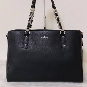 Kate Spade cobble hill andee tote bag, black